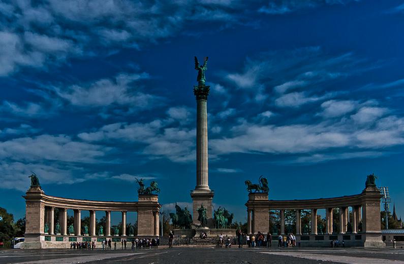 Budapest Millennium Monument Heroes Square Ian McKenzie