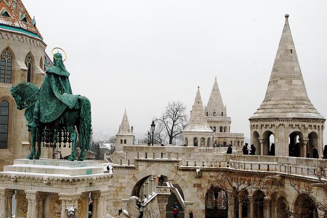 Fishermans Bastion Budapest December Mispahn